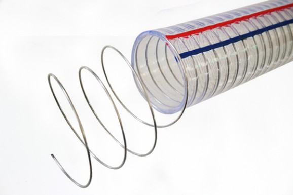 PVC透明钢丝软管750